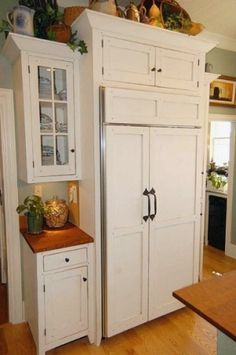 fridge built-in by donnakorm