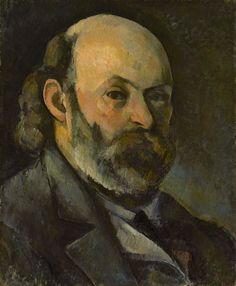 Paul Cézanne - 011 Autoportrait - Автопортрет - 1880/ 85 (annoté par le fils de Cézanne: Aix 1886) - 45x37 - Provenance, Ambroise Vollard, 4 mai 1906 - cat. 1913, 207 - inv. Pouchkine J3338