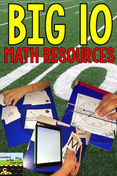 Ten ways to practice fundamental math skills for small groups, independent practice, math stations, or assessment.