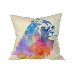 Are you cool enough for the Cool King Outdoor Throw Pillow? Find out. Bring this edgy design home to accent a special patio or poolside seating group. Guests will marvel at the delicately painted water...  Find the Cool King Outdoor Throw Pillow, as seen in the Outdoor Pillow Sale Collection at http://dotandbo.com/collections/outdoor-pillow-sale?utm_source=pinterest&utm_medium=organic&db_sku=105562