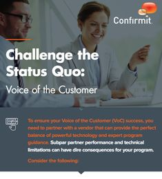 To ensure your Voice of the Customer (VoC) success, you need to partner with a vendor that can provide the perfect balance of powerful technology and expert program guidance. Subpar partner performance and technical limitations can have dire consequences for your program.