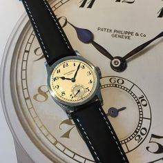 Steel ref. 96 with enamel painted breguet numerals