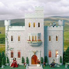 Cumberland Castle has a charm unlike any other dollhouse from dheminis. From medieval manor to modern country retreat, you can style it as you choose. Its long and courtly dining room offers the new owners (perhaps a rock star in need of a rest?) a stunning setting to impress all their friends 'up from the city'. Featuring two roof terraces and beautifully complemented by the East Wing, this dollhouse offers five rooms over three floors