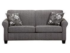 Living Room Sets Slumberland slumberland furniture - york collection - granite sofa