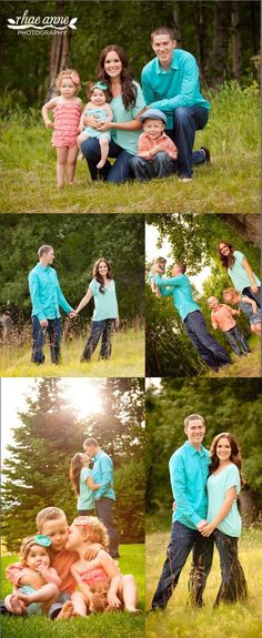 Fun family poses - Family Photography