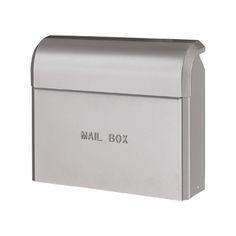 おしゃれ郵便ポスト ライク(シルバー) GM1-E20-103