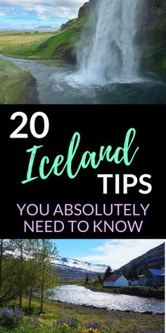 20 Iceland tips you need to know. Everything you need before planning a trip to Iceland! #Iceland