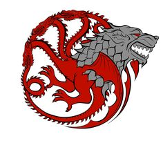 "javiersaviour: "" Starkgaryen!!! @therealjacksepticeye heard you liked Game of thrones, I love it too!!! Here is a design for a t-shirt I made combining the houses Stark and Targaryen hope you like..."