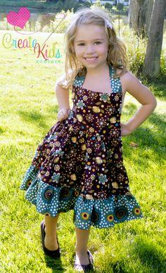 Lola's Tiered Twirly Dress