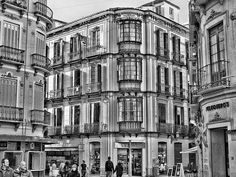 The old town Malaga. A series of black & white photos taken on a recent visit to Malaga, Spain
