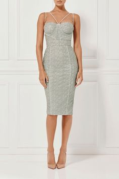 Misha Collection - Milly Dress - Sage