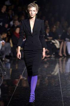 Dolce & Gabbana Fall 2003 Ready-to-Wear Fashion Show - Tetyana Brazhnyk