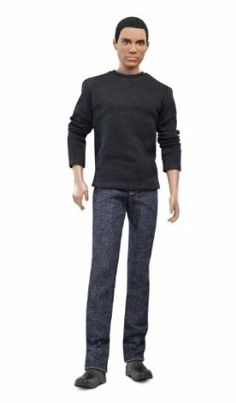 Barbie Collector Basics Ken Model #17 - Collection #2 by Mattel. $190.00. Each doll has a unique T-shirt to coordinate with the jeans. Jeans feature details such as real pockets with embroidered Barbie logo and metal grommets. Barbie Basics takes the fashion basic to new heights with in denim. Featured in a variety of denim jeans with different cuts and colors and details. Add one of the accessory packs to personalize your very own Barbie doll. Barbie Collector Barbie Basics A...