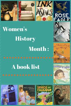 A list of books for Women's History Month.