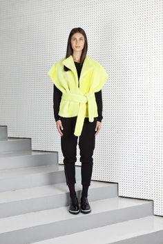 IPEK vest acid yellow via ONAR Studios. Click on the image to see more!