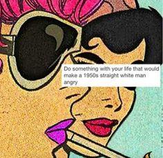 1950's retro angry