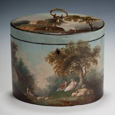 OnlineGalleries.com - Henry Clay Tea Caddy
