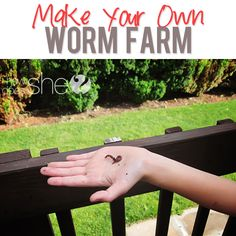 I be over-sharing if I told you I have worms? Make your own Worm Farm! These are excellent for gardening and fertilizing your yard!Make your own Worm Farm! These are excellent for gardening and fertilizing your yard!