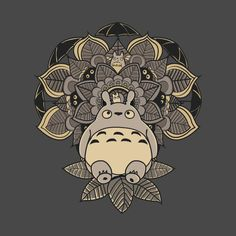 Check out this awesome 'Totoro+Mandala' design on @TeePublic!