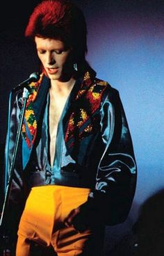 Love the shirt. David Bowie