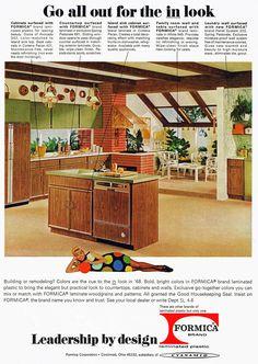 Formica kitchen, 1968