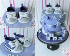 Bling bling christening  - Cake by Maria *cakes made with passion*