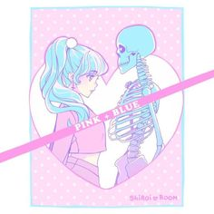 We belong together, like pink and blue ・:*:・☆彡by Ayame Shiroi