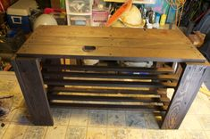 Diy Pallet Shoe Rack Bench