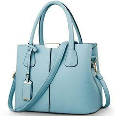 Lady PU Leather Designer Brand Vibrant Colors Tassel Shell Handbags