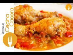 Pollo al Chilindrón casero | Recetas de Cocina Casera - Recetas fáciles y sencillas