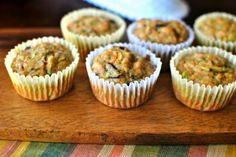 Zucchini Carrot Muffins using Star Butter Flavored Olive Oil Recipe developed by Hub Hamilton McNamara ~ Simply Scratch Carrot Muffins, Healthy Muffins, Healthy Desserts, Zucchini Muffins, Healthy Foods, Yummy Treats, Sweet Treats, Yummy Food, Delicious Recipes