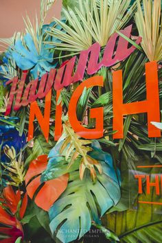 Havanna Nights Party, Havanna Party, Havana Nights Party Theme, Havanna Cuba, Cuban Party, Media Wall, Tropical Party, Event Decor, Fundraising