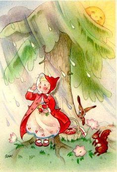A Polar Bear's Tale: Vintage Charlotte Baron postcards