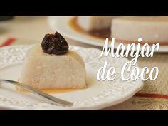 Manjar de Coco (Com Leite de Coco Caseiro) - Especial de Natal - Presunto Vegetariano