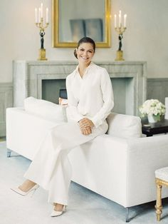 New photos of Crown Princess Victoria were published