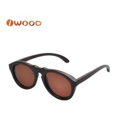 ZA08 Bamboo wooden sunglasses Branded style polarized glasses wooden women sunglasses men sunglasses
