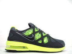Nike Air Max Lunar MX 2 II Mens Size 8 Shoes Green Volt Trainer Black Grey 1 360