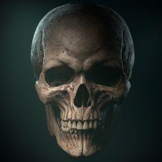 Angel And Devil Costume, Skull Reference, Sculpture Head, Chest Piece Tattoos, Sugar Skull Tattoos, Scary Art, Skull Fashion, Flower Skull, Celtic Art