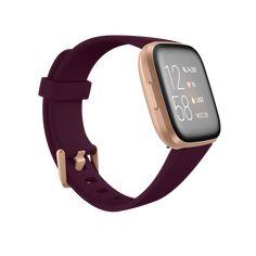 Fitbit Versa 2™ Smartwatch   Shop Brown Wedding Hair, Pandora Stations, Fitbit App, Track Workout, Watch Case, Smartwatch, Shopping, Smart Watch