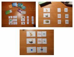 Katja hat für uns ein Silbenspiel zusammen gestellt, dass sie hier mit uns teilt. Dankeschön! Die Silben werden zu den Bilder gelegt. Die e...