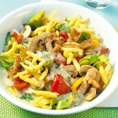 Spätzle-Chicken-Pfanne | Weight Watchers