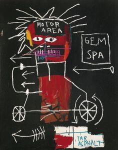 Jean- Michel Basquiat - Urban Art - Underground Style - Neo Expressionism - Gem Spa - 1982