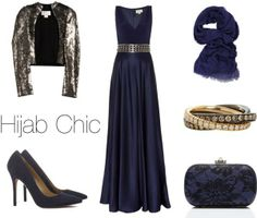 party/wedding hijab style