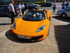 Cars & Life | Cars Fashion Lifestyle Blog: Frank Stephenson Caught Driving McLaren MP4-12C Spider