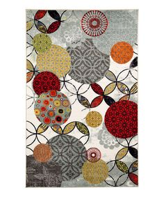 Love this Give & Take Kaleidoscope Rug on #zulily! #zulilyfinds