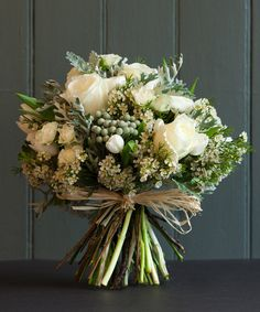 Gorgeous.  Would like peonies or hydrangeas rather than roses, I think