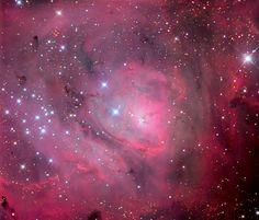 M8 - Lagoon Nebula Core