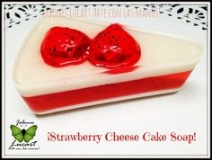 Strawberry Cheesecake Soap!