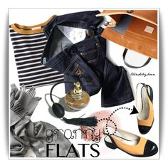 Granny Flats by trendsbybren on Polyvore featuring Demylee, Chanel, Built by Wendy, NARS Cosmetics and grannyflats
