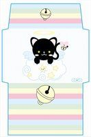 ANGEL KITTY envelope by ~NATHA-LUNA on deviantART